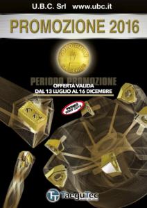 TAEGUTEC Promozione Luglio - Dicembre 2016